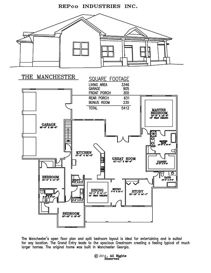 Residential Metal Building Floor Plans